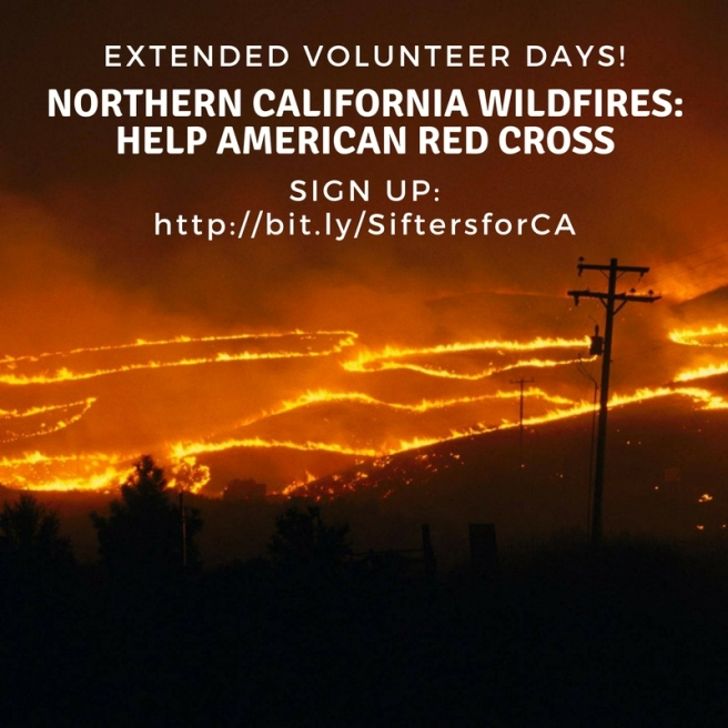 Northern California Wildfires- Help American Red Cross