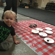 Squall, our youngest volunteer!